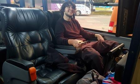 Busfahren in Kolumbien
