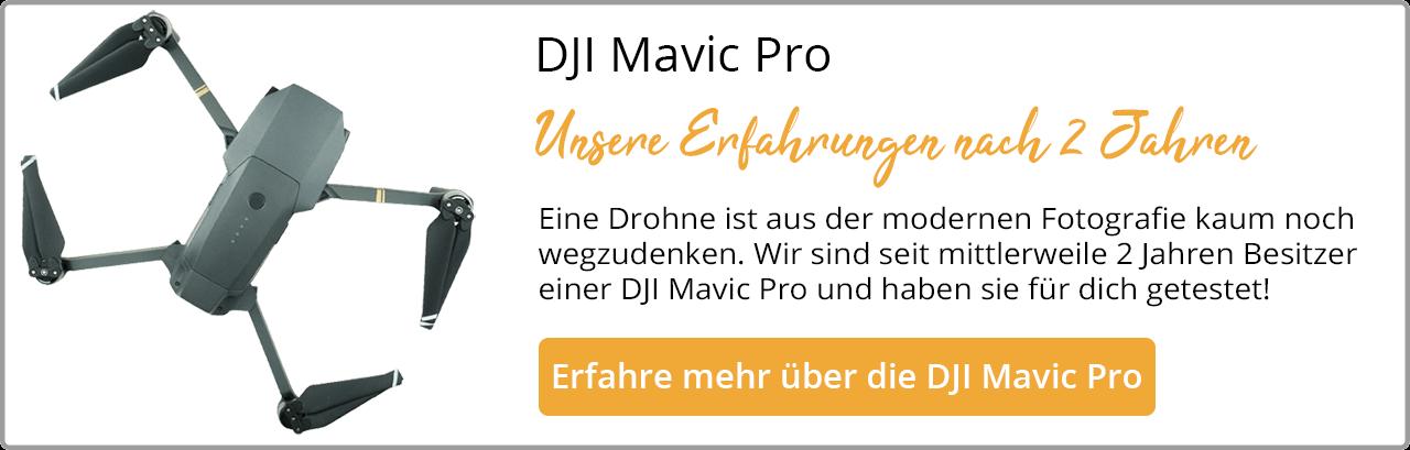 DJI Mavic Pro Erfahrungsbericht