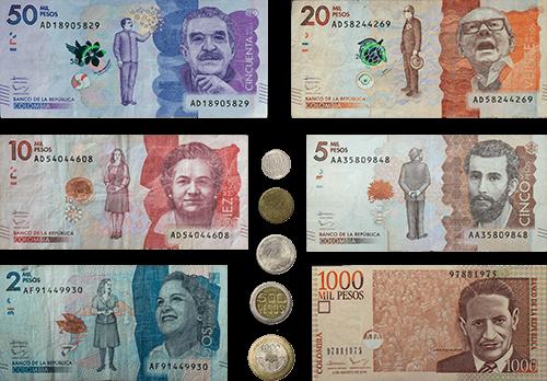 Kolumbianische Pesos COP