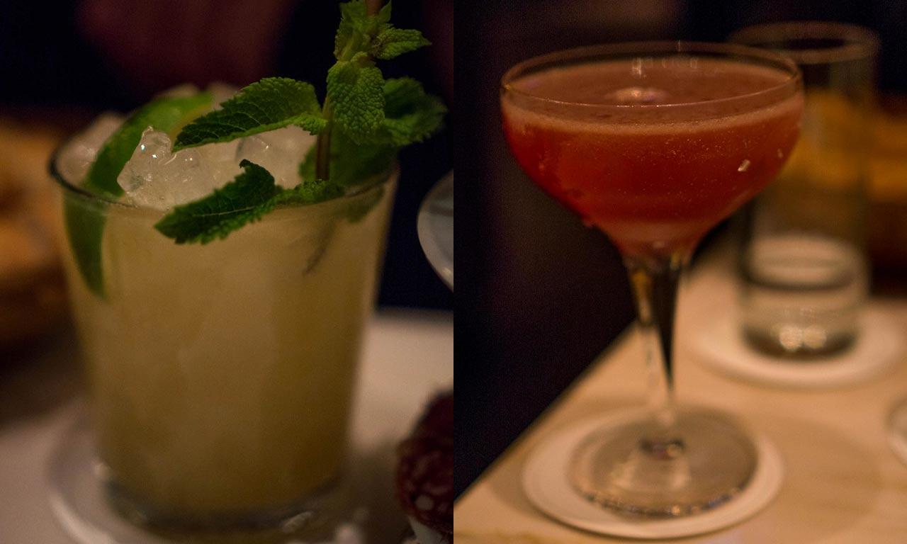 Le Lion Bar de Paris Cocktails