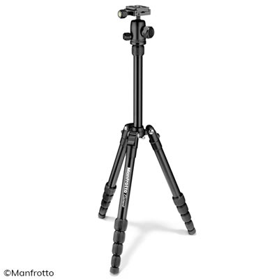 Manfrotto Kleines Element Traveller Alu Stativ