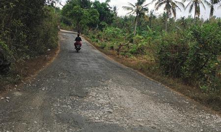 Rollerfahren auf Nusa Penida