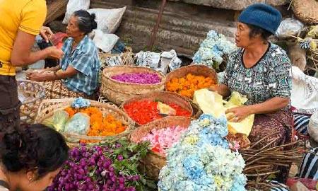 Markt in Ubud – Alles eine Frage des Handelns